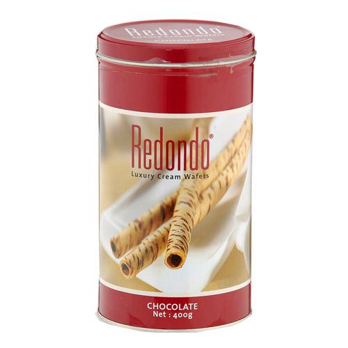 瑞登Redondo歐式捲心酥-巧克力口味400g