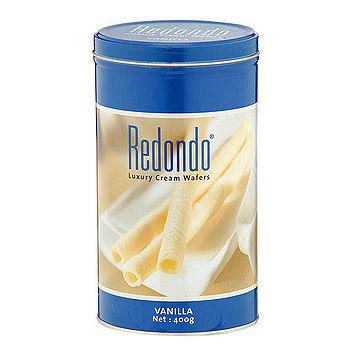 瑞登Redondo歐式捲心酥-香草口味400g