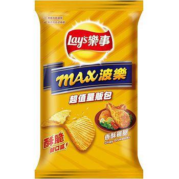 樂事max波樂洋芋片-香酥雞腿97g