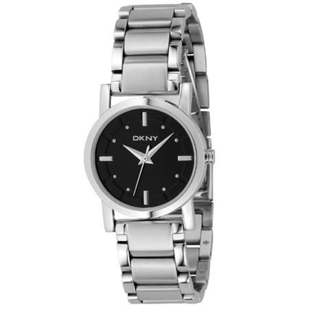 DKNY華麗焦點腕錶(黑)
