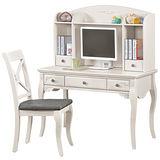 HAPPYHOME 黛麗雅3.6尺桌椅組346b-4