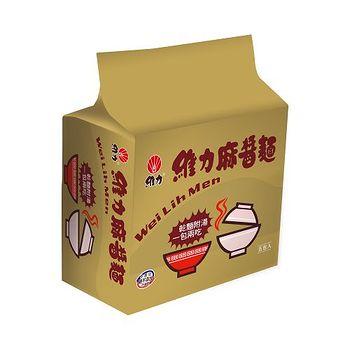 維力麻醬包麵85g*5