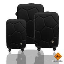 Gate 9 經典世紀足球系列ABS輕硬殼行李箱三件賭