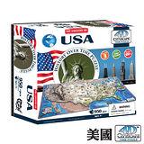 4D 立體城市拼圖 - 美國 950+