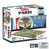 4D 立體城市拼圖 - 巴黎1100+