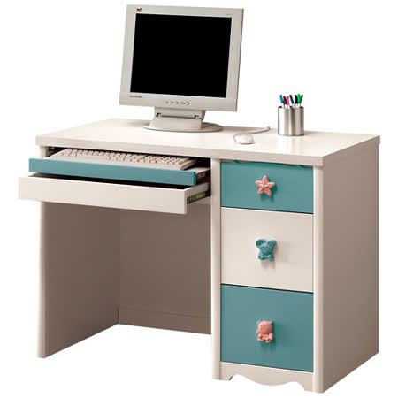 HAPPYHOME 貝妮絲3.2尺電腦桌361-2可選色