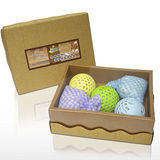 奈米銀絲(Ag+) - 禮盒組~活性抑菌洗衣球3pcs+沐浴球2pcs - YU303,抑菌,Ag+,奈米,除臭