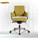 【Merryfair】DELPHI摩登優雅(OA布)低背辦公椅-橄欖綠黑框