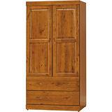 日式量販-玉桂防蛀3X6實木衣櫃