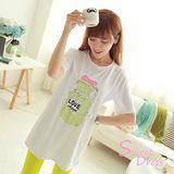 韓版限定【Sweet Dress】片香水瓶短袖T恤