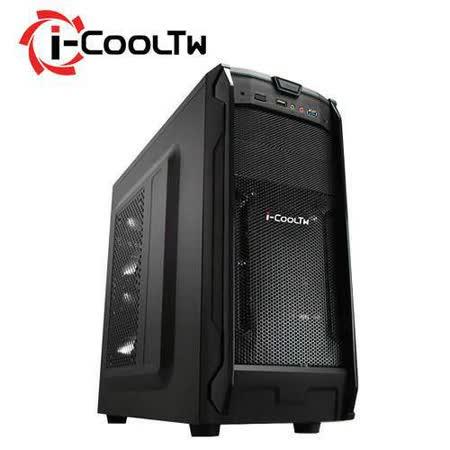 i-COOLTW 無極鬥士 Q6 黑色 電腦機殼