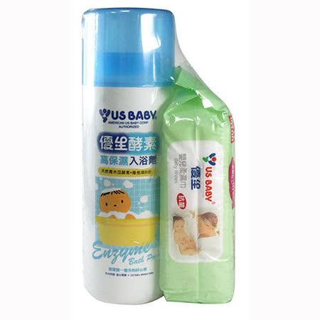 優生酵素入浴劑1000g+贈優生清爽型柔濕巾80抽