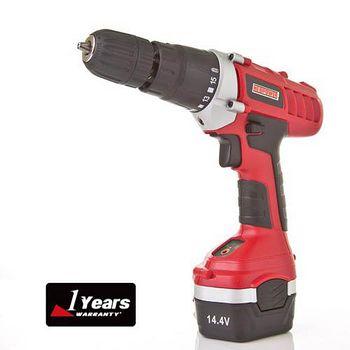 NEOPOWER 14.4V 充電式震動電鑽工具組 14.4V
