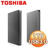 Toshiba 東芝 Canvio Slim 1TB USB3.0 2.5吋超薄型外接式硬碟《兩色任選》