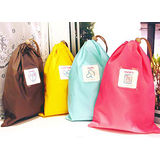 【PS Mall】韓國 旅行收納袋/衣物整理袋/防水幸運袋 L號 _2個 (J735)