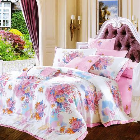 Lily Royal 薇閣花香 天絲 雙人四件式兩用被床包組