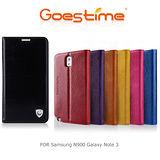 GOES TIME 果時代 Samsung Note3 N900 真皮樹高紋系列可立皮套