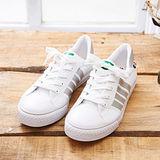 中國強 MIT 百搭休閒帆布鞋CH83(白銀)男鞋