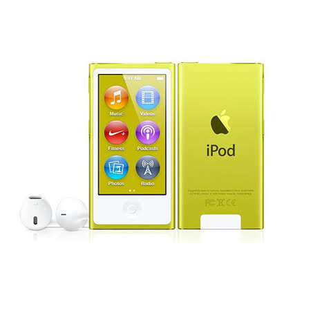 Apple iPod nano 16GB 全新版 (黃色) _ 台灣公司貨
