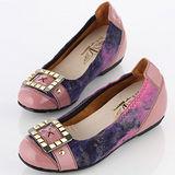 【T2R】超質感炫麗方飾 時尚款。〈紫色〉↑6cm 5870-0103