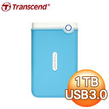 Transcend 創見 SJ25M3B 1TB USB3.0  2.5吋 防震外接硬碟