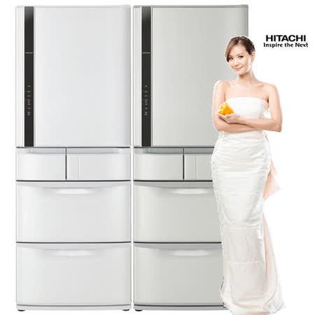 HITACHI日立519公升超一級節能變頻五門冰箱RS53DMJ