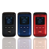 【CGC】G210 雙螢幕雙接聽翻蓋手機(黑/藍/紅)