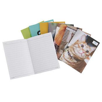 A6/50K定頁筆記橫線30張-寵物