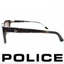 POLICE 義大利警察都會款個性型男眼鏡-膠框(豹紋) POS1883-0722