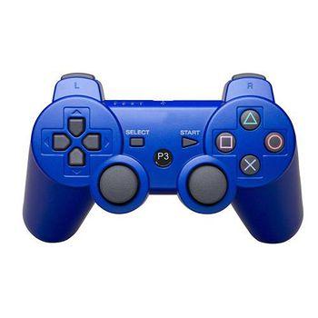 PS3 港製 DS3 無線震動手把 藍
