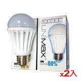 ★2件超值組★美克斯UNIMAX LED省電燈泡-白光(10W)