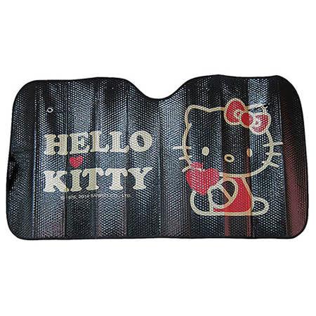 【享夢城堡】HELLO KITTY 我愛蘋果系列-前窗遮陽板
