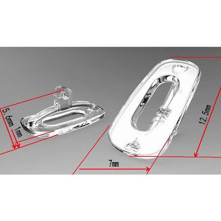 透氣防滑無壓痕矽膠鼻墊/ 鼻托 /透氣舒適 (方型)