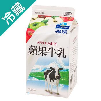 福樂蘋果牛乳385ml/瓶