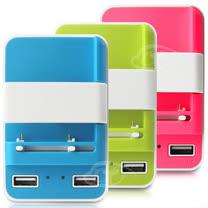 【HANG】智能之星-3in1雙USB快速充電器