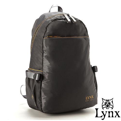 Lynx ~ 山貓城市輕遊款大容量極簡 後背包~科技灰