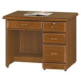 【優利亞-藝瑄】3.2尺辦公桌兼書桌(2色)