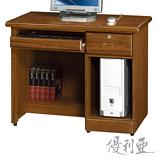 【優利亞-藝瑄】3.2尺電腦桌(2色)