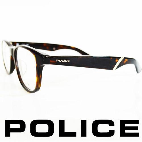 POLICE 義大利警察都會款 型男眼鏡~膠框^(黑^) POV1792~0722