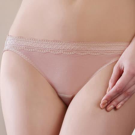 【蕾黛絲】挺素面真水M-EL低腰褲(柔嫩粉)