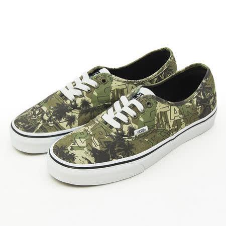 男 VANS 休閒時尚鞋--Authentic 星際大戰 Star Wars--迷彩綠--42010141