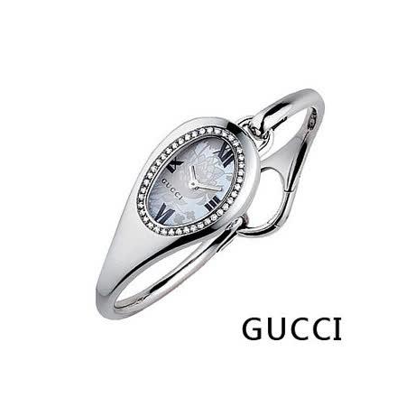 GUCCI 古馳 佩蒂特鑽石錶框女錶 YA103529