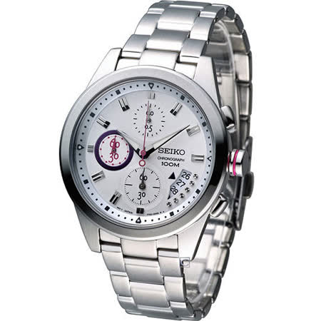 SEIKO 精工 Criteria 艾莉絲奇遇 計時腕錶 7T92-0RV0S SNDW61P1