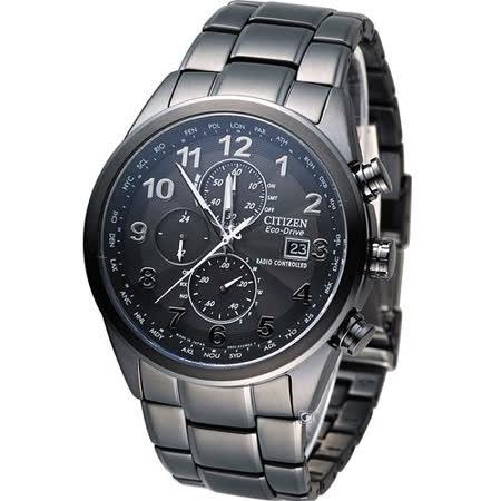 CITIZEN 星辰 GENT'S 時刻主宰電波腕錶 AT8105-53E