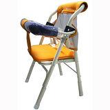 優生居家機車雙用椅(藍/橘)