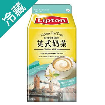 立頓英式奶茶(濃情香草風味)400ml