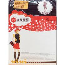 妮妮NiNi 100%彈性保暖褲襪(黑)