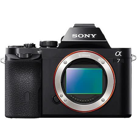 SONY A7 單機身(公司貨).-送16G記憶卡+VG-C1EM原廠垂直手把(市價$9880)+LCS-ELCC原廠專用相機套(市價$3880)
