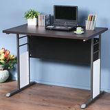《Homelike》巧思辦公桌 炫灰系列-胡桃加厚桌面100cm