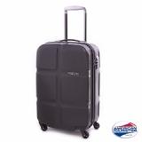 American Tourister 24吋 CUBE POP繽紛硬糖四輪行李箱(黑加侖)